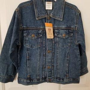 Boys new denim jacket